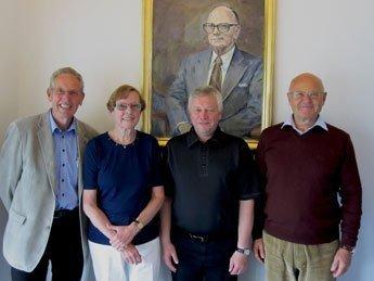 KEN Fondens bestyrelse består af: Mogens K. Nielsen, Birgit Schmidt, Søren Bech Sørensen, Torben Storm Nielsen.